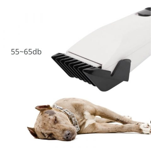 low noise cat & puppy hair trimmer won't scare sleeping dog
